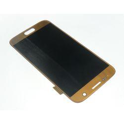 Ecran vitre tactile et LCD assemblés Or pour Samsung Galaxy S7 G930 G930F