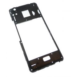 Black rear frame for Wiko Rainbow UP