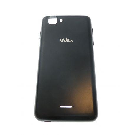 Cache arrière cache batterie noir pour Wiko Kite