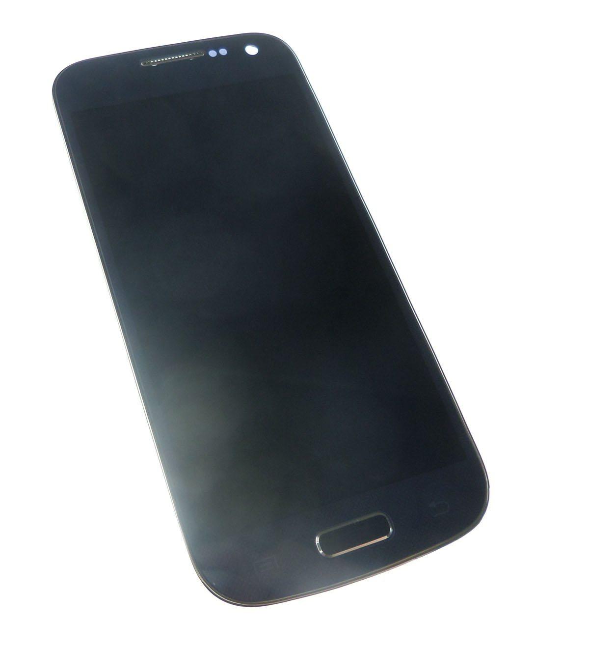 Ecran Lcd et vitre tactile avec châssis Samsung Galaxy S4 mini 4G I9195 noir