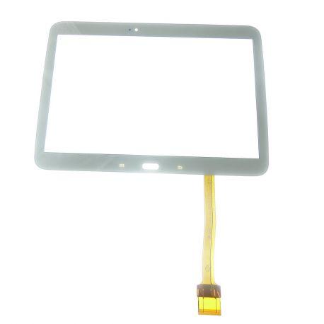 Ecran vitre tactile blanc compatible Samsung Galaxy TAB 3 10.1 P5200 P5210