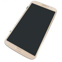 Ecran LCD et vitre tactile assemblés sur châssis Samsung Galaxy Mega 4G I9205 blanc