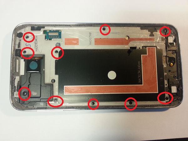 Guide de démontage et réparation du Samsung Galaxy S5 SM-G900F étape 20
