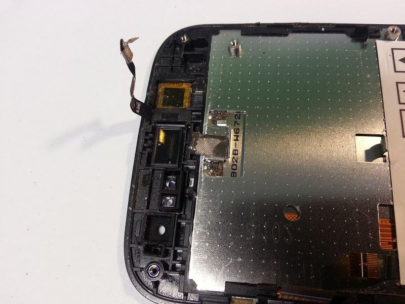 Caméra du wiko iggy démontée