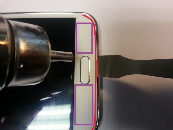 Guide de démontage et réparation du Samsung Galaxy S5 SM-G900F étape 16