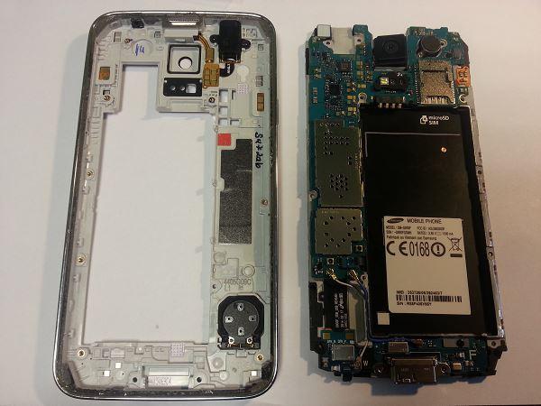 Guide de démontage et réparation du Samsung Galaxy S5 SM-G900F étape 25