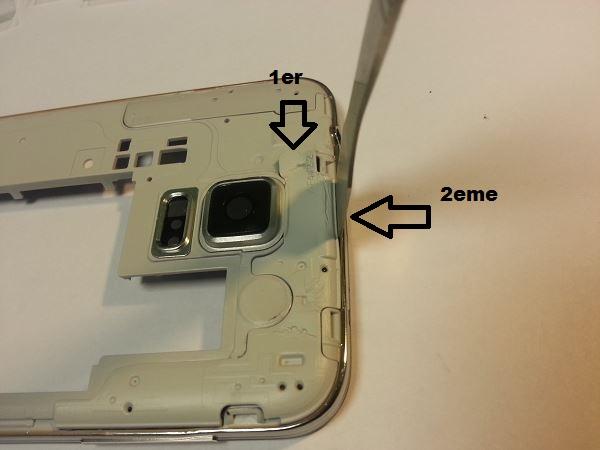 Guide de démontage et réparation du Samsung Galaxy S5 SM-G900F étape 43