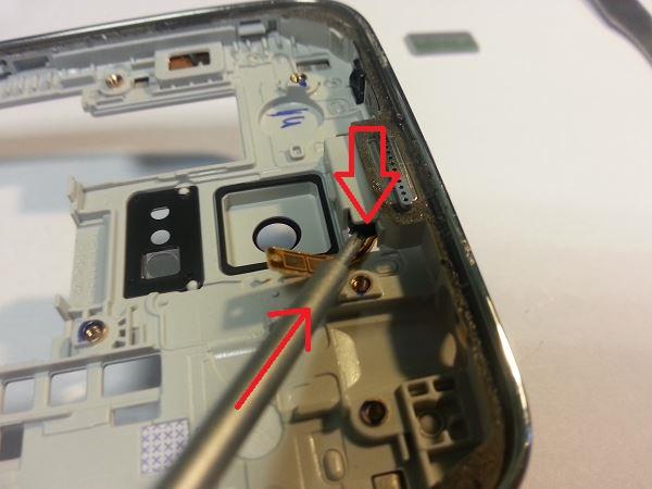 Guide de démontage et réparation du Samsung Galaxy S5 SM-G900F étape 50