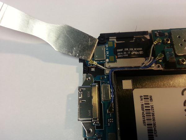 Guide de démontage et réparation du Samsung Galaxy S5 SM-G900F étape 63