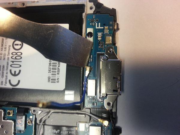 Guide de démontage et réparation du Samsung Galaxy S5 SM-G900F étape 65