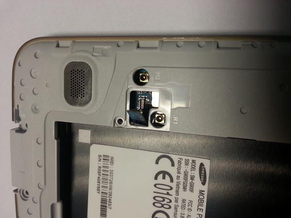 Guide de démontage et réparation du Samsung Galaxy S5 SM-G900F étape A4