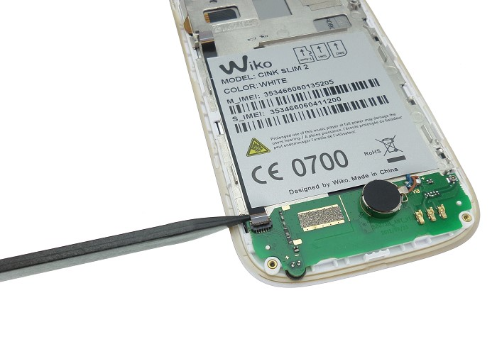 carte secondaire wiko cink slim 2